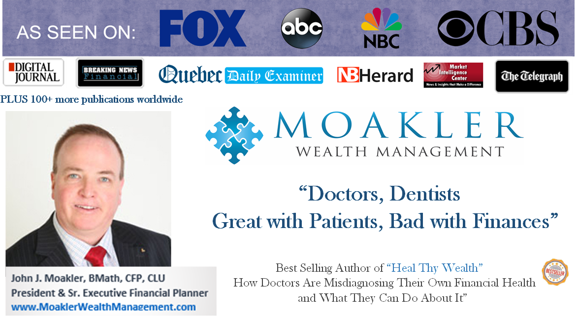As Seen On…….Doctors, Dentists, Great with Patients, Bad with Finances