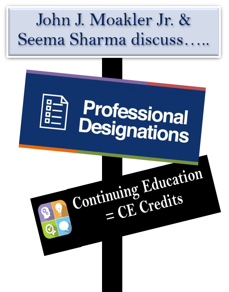 Designations & CE Credits Discussion